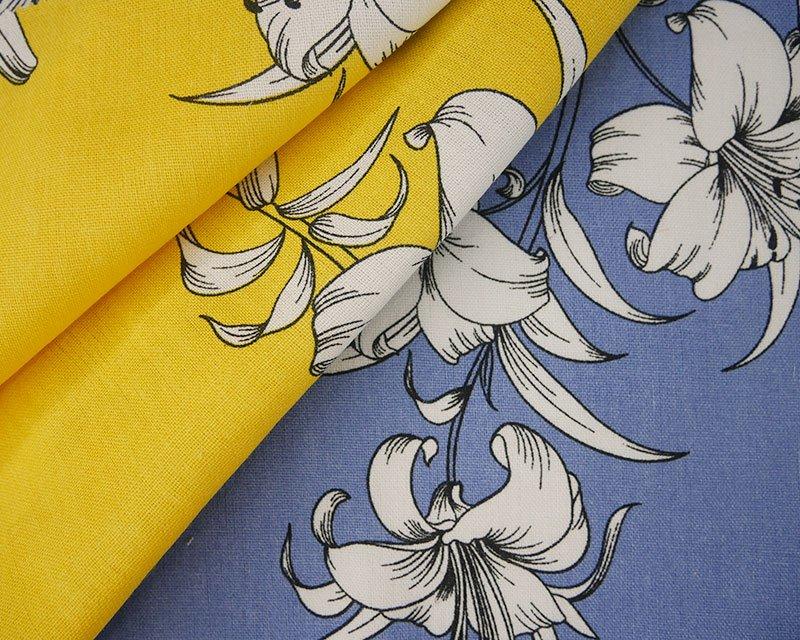 White Lily Linen Mix