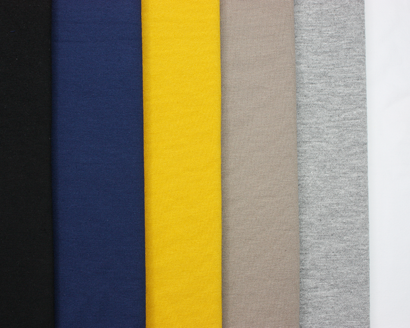 French Terry Loopback Cotton Jersey