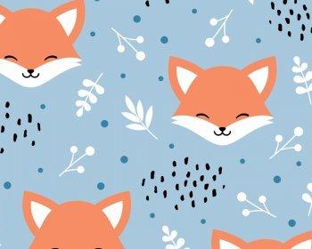 MP Blushing Foxes Polycotton
