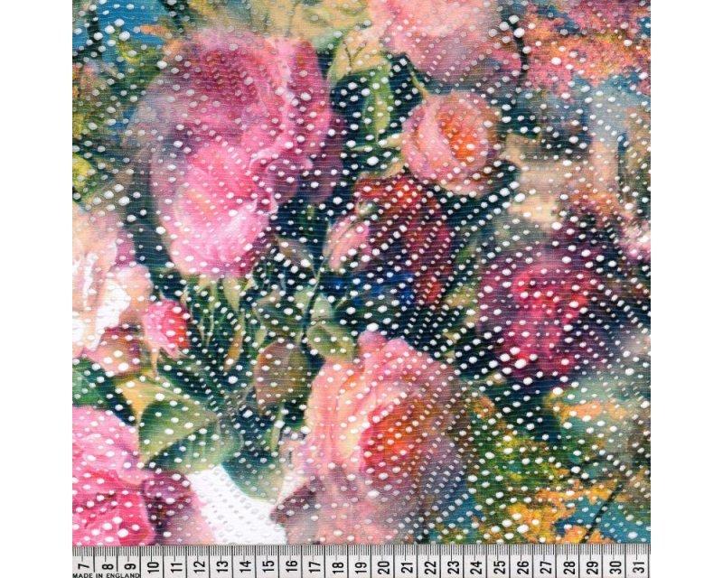 Floral Airtex Lace