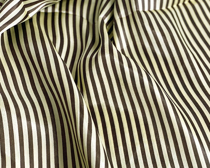 Candy Stripe Satin