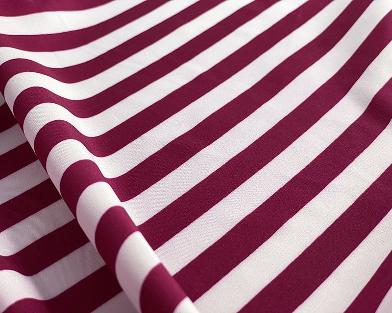 Medium Stripe Satin