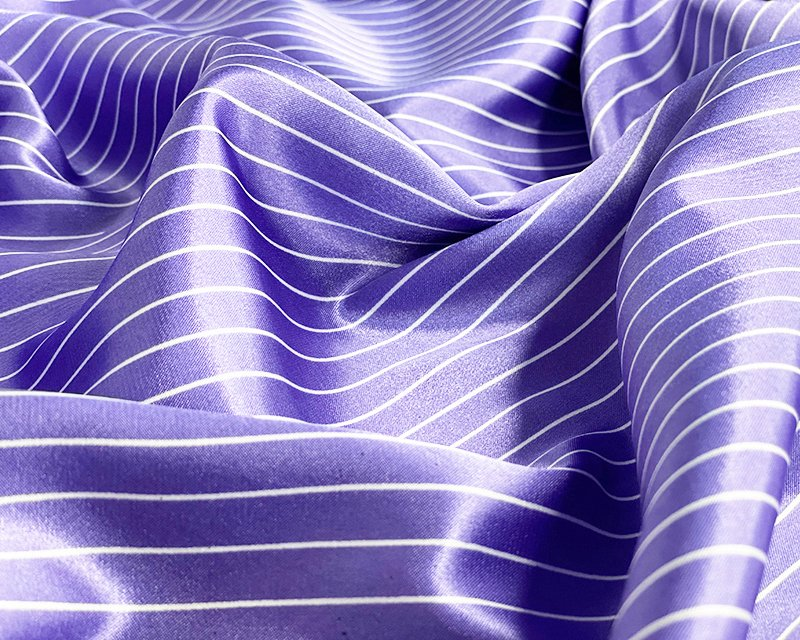 Thin Stripe Satin