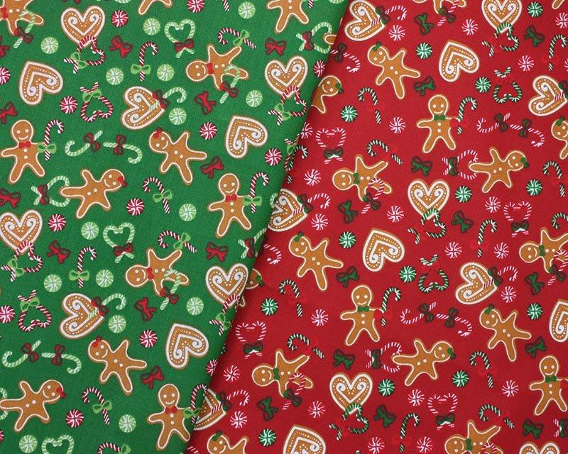 Sally Polycotton Gingerbread Christmas