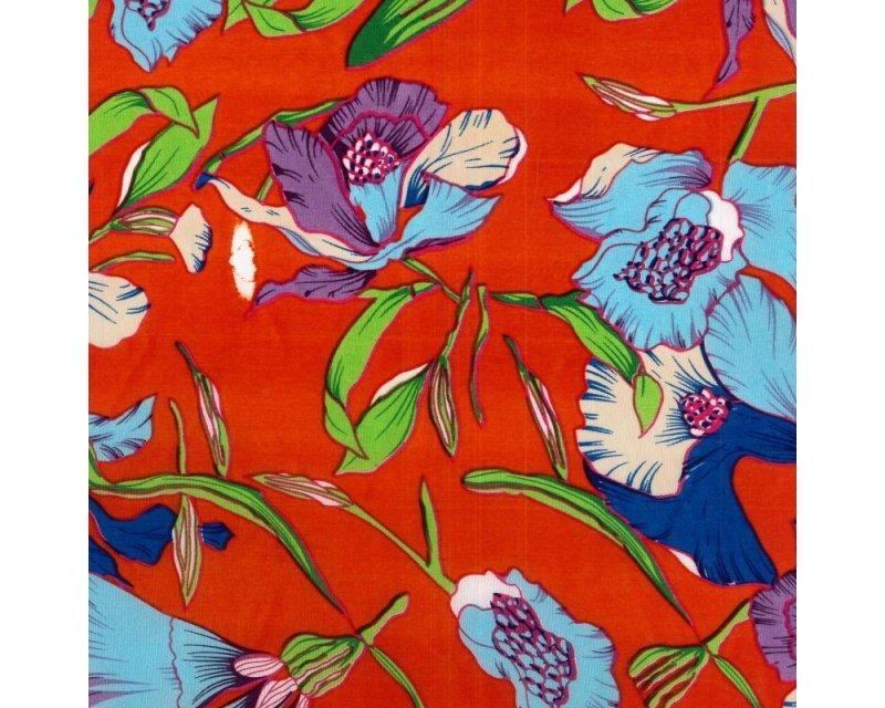 Floral Peachskin