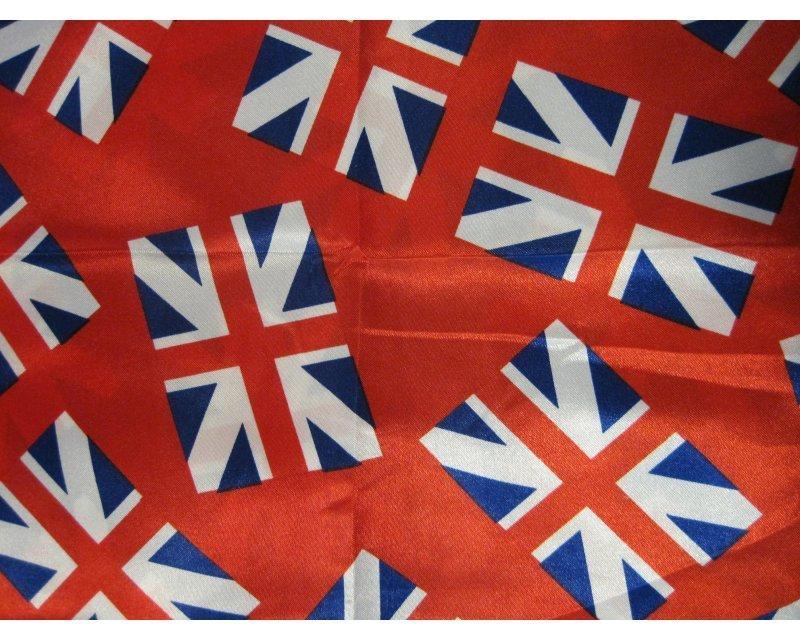 Union Jack Satin