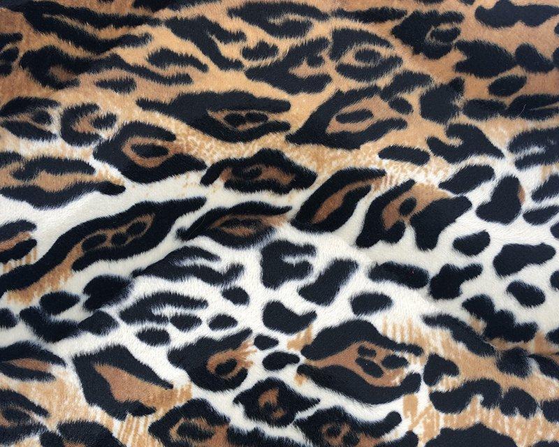 Baby Tiger Print Velboa