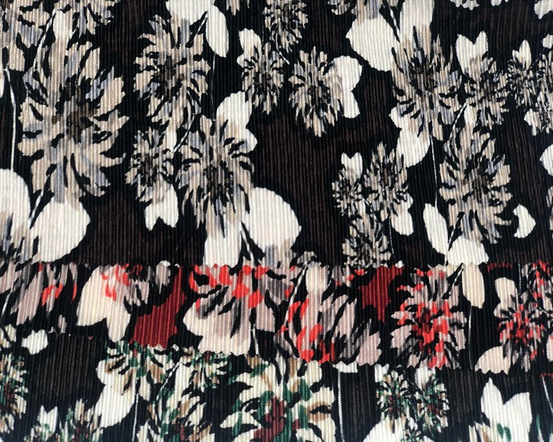 Pleated Flower Jersey
