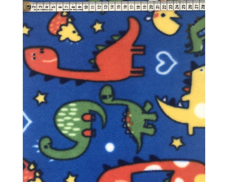 Dinosaur Polar Fleece