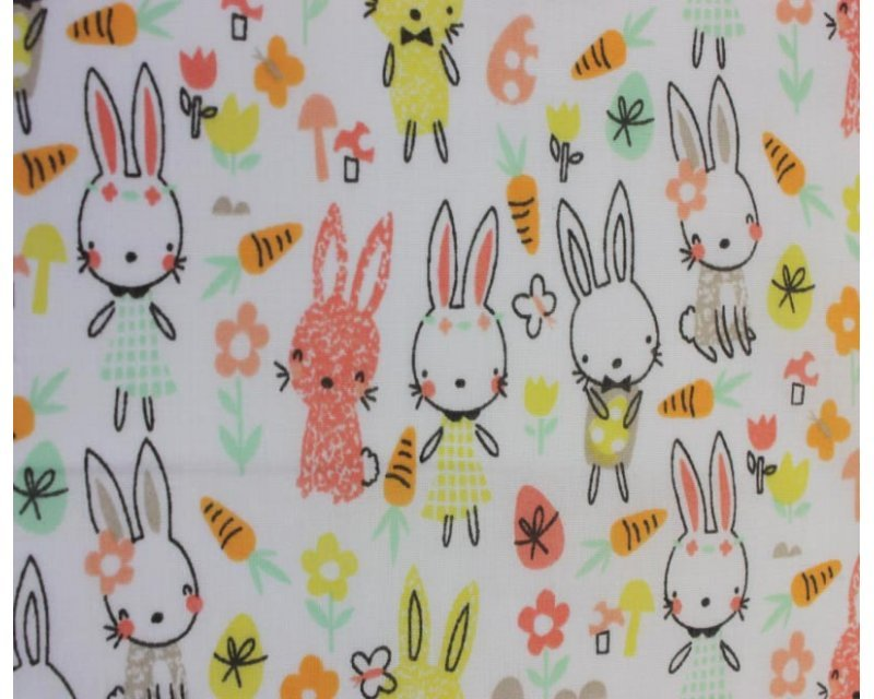 Sally Polycotton Spring Bunny Rabbit