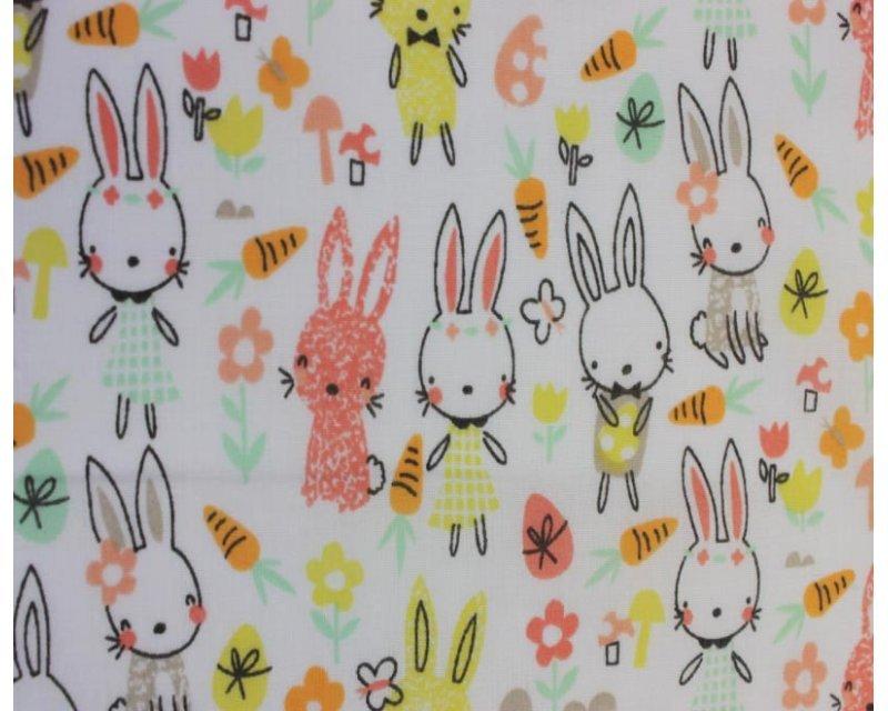 Sally Polycotton Spring Bunny Rabbit