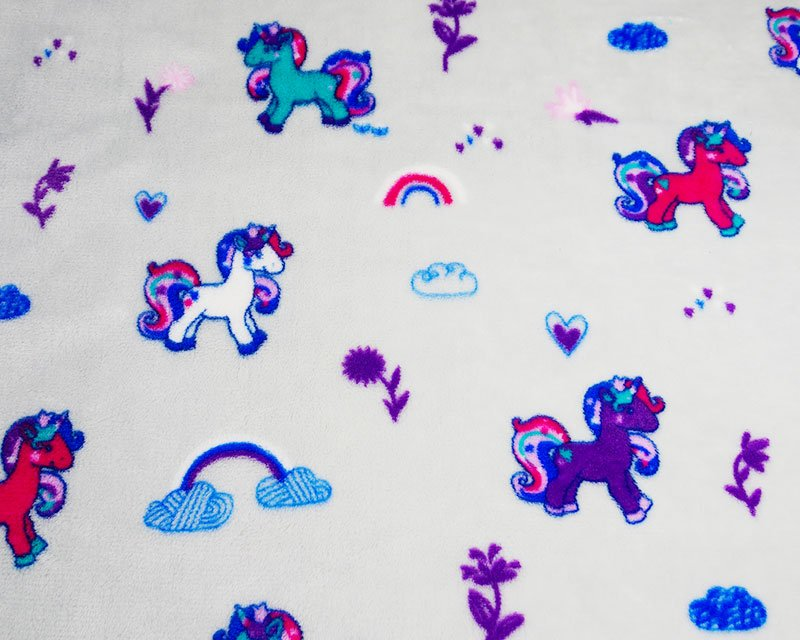 Unicorn Rainbow Cuddle Fleece