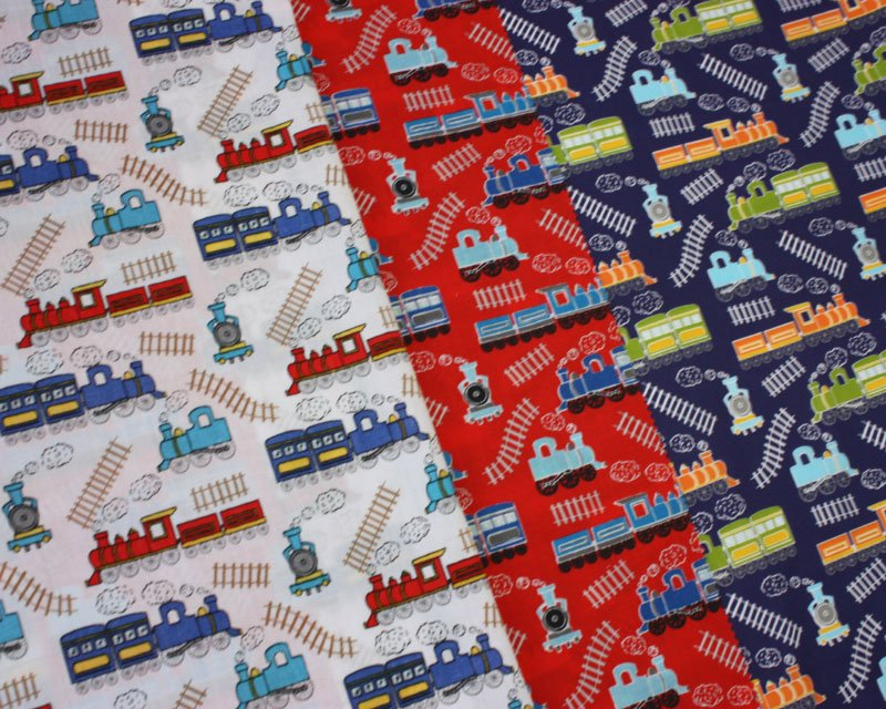Sally Polycotton Train Track