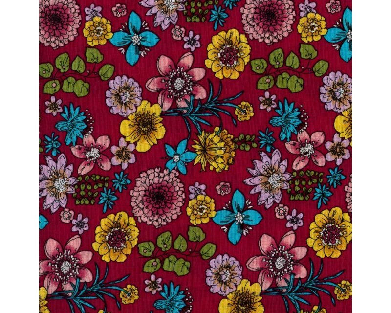 Empee Flower Cotton Poplin