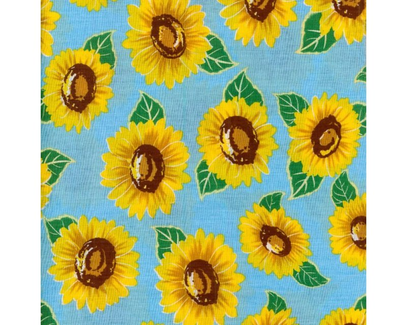 Empee Sunflower Cotton Poplin