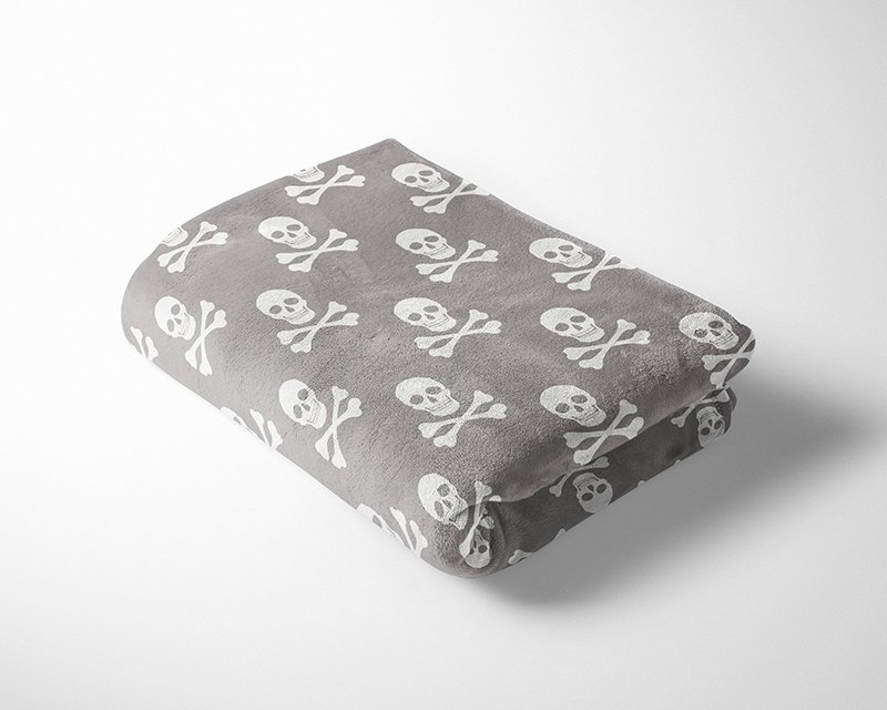 Skulls Cuddle Fleece