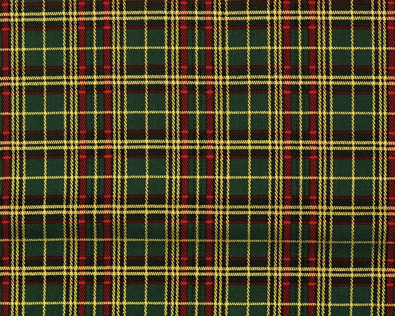 Christmas Tartan Cotton