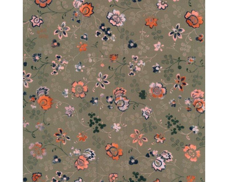 Floral Crepe De Chine