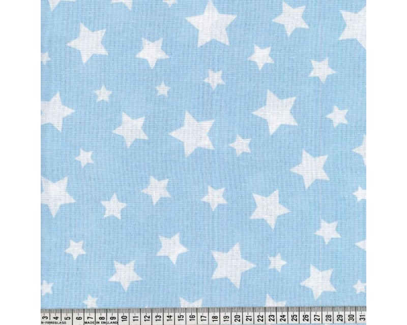 Linen Look Canvas Stars