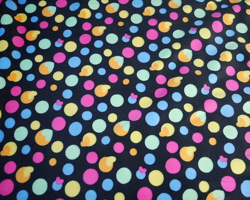 Spot Heart Super Soft Nicky Fleece