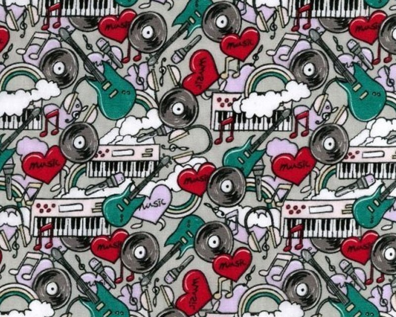 MP Music Polycotton