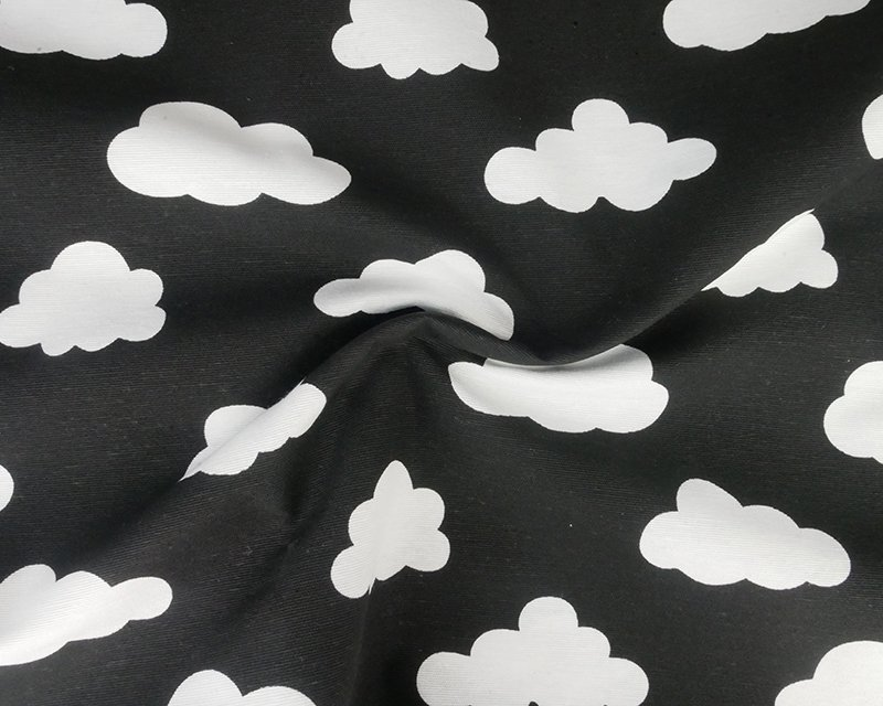 Monochrome Cloud Ottomon