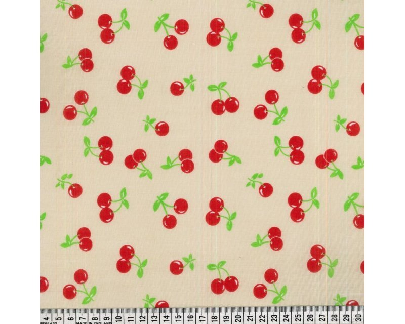 Sally Polycotton Cherry