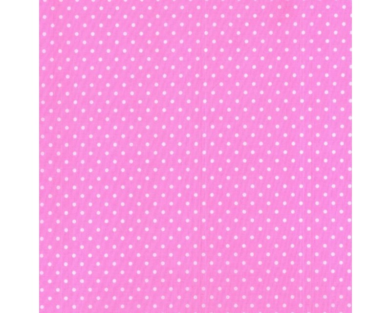 Sally Pin Spot Polycotton