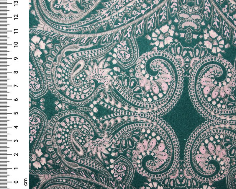 Paisley Soft Touch Jersey