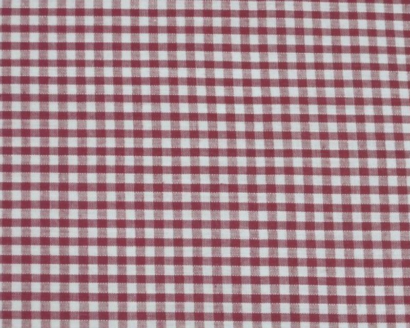 Cotton Gingham 1/8