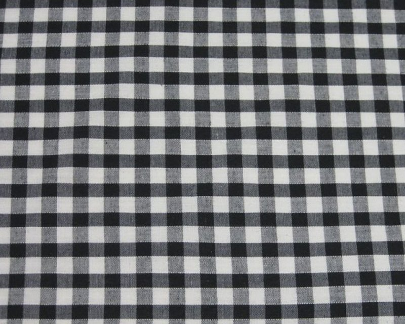 Cotton Gingham 1/4