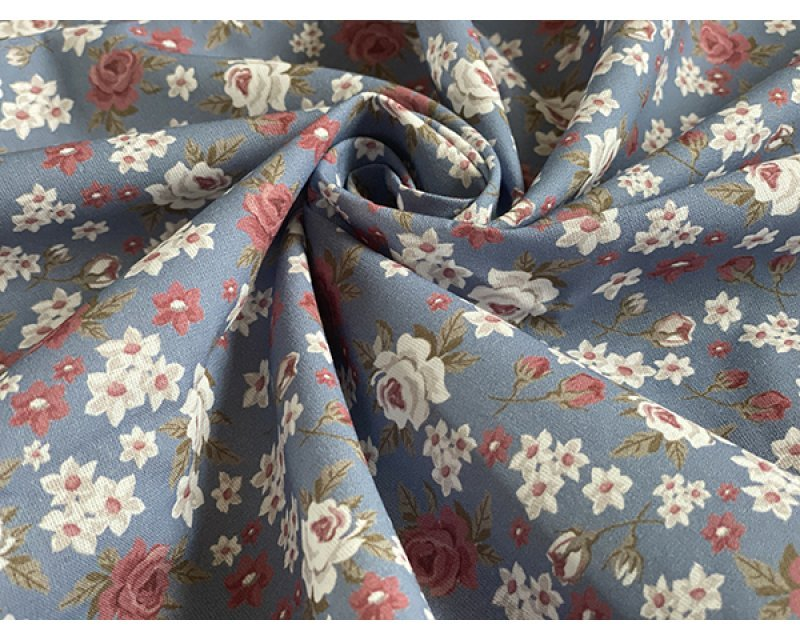 Roses Floral Cotton