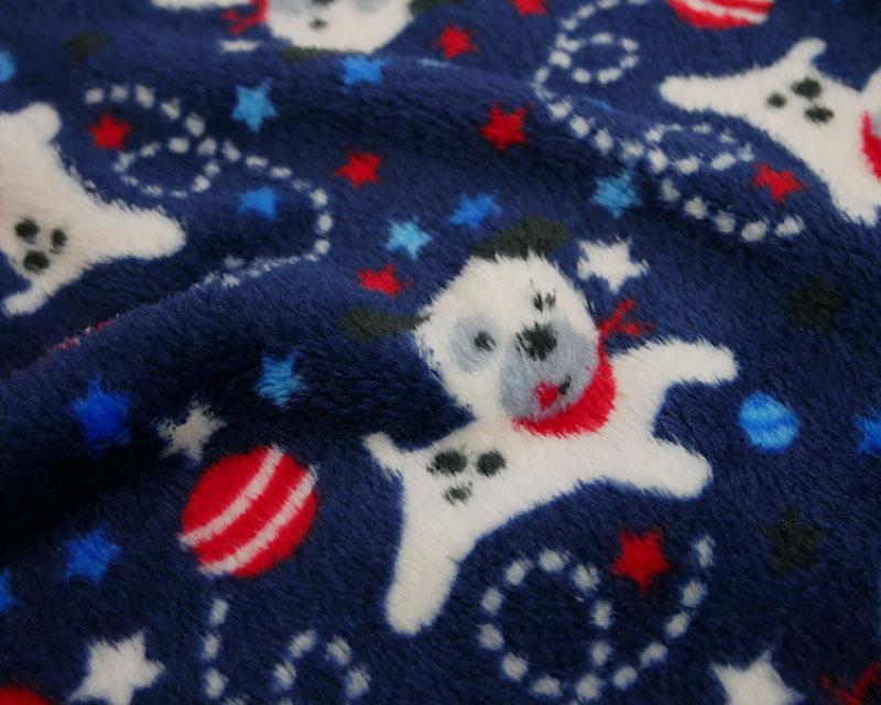 Reversible Dogs Balls Cuddle Fleece