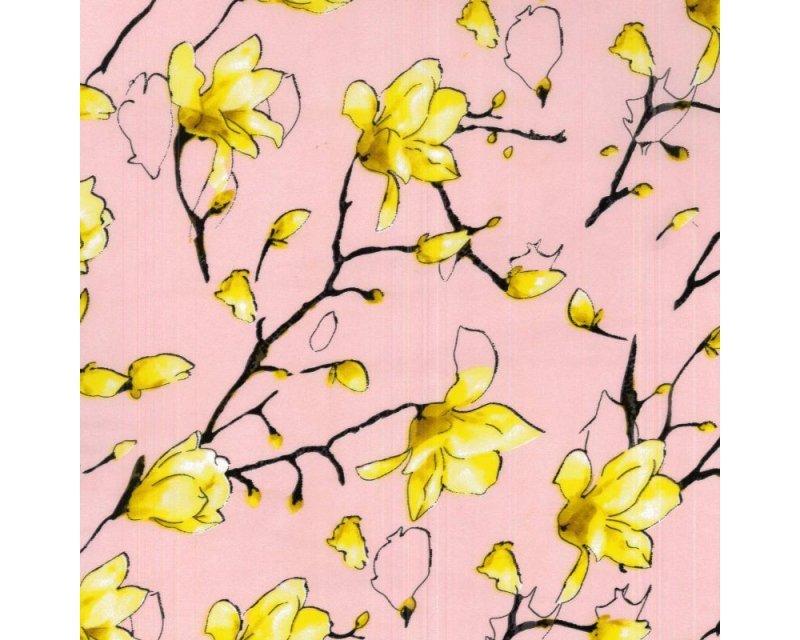 Floral Twig Satin
