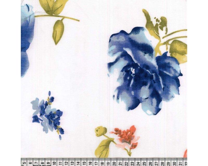 Stretch Floral Taffeta
