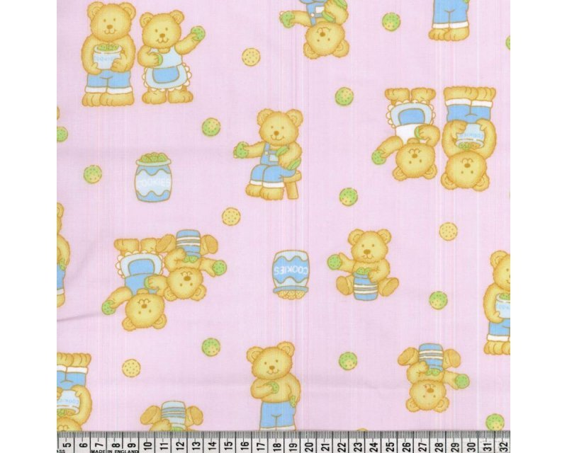 Sally Polycotton Teddy Cookies