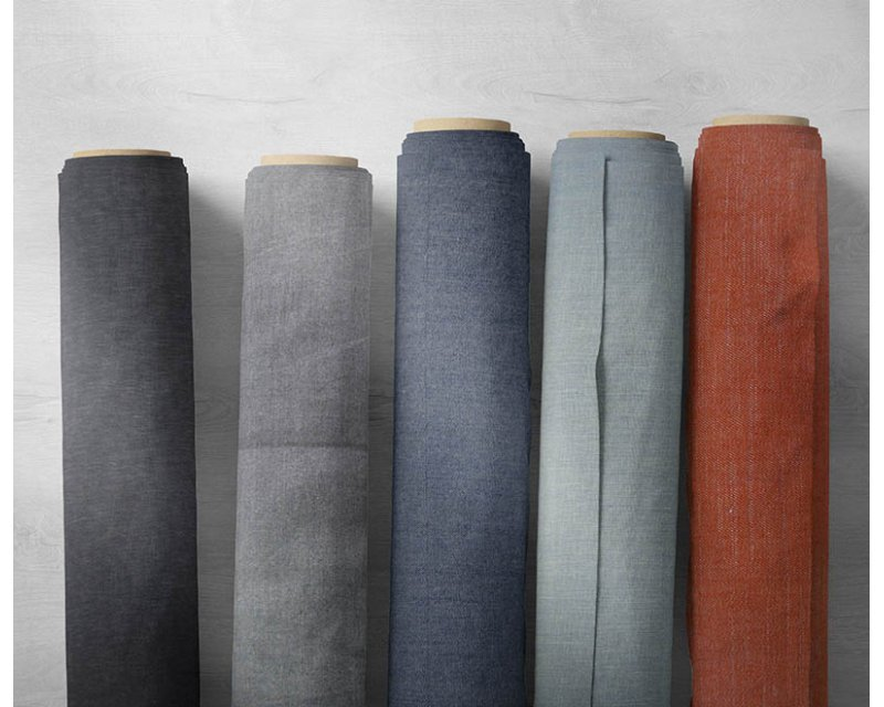 Assorted Plain Denim - Deadstock Bundle - Medium (Up to 35m)
