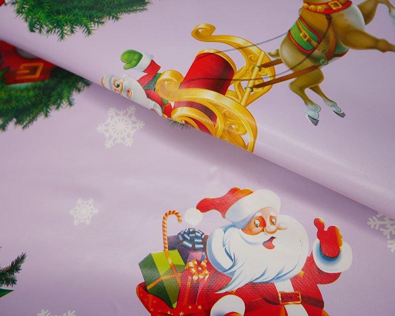Santa Reindeer PVC