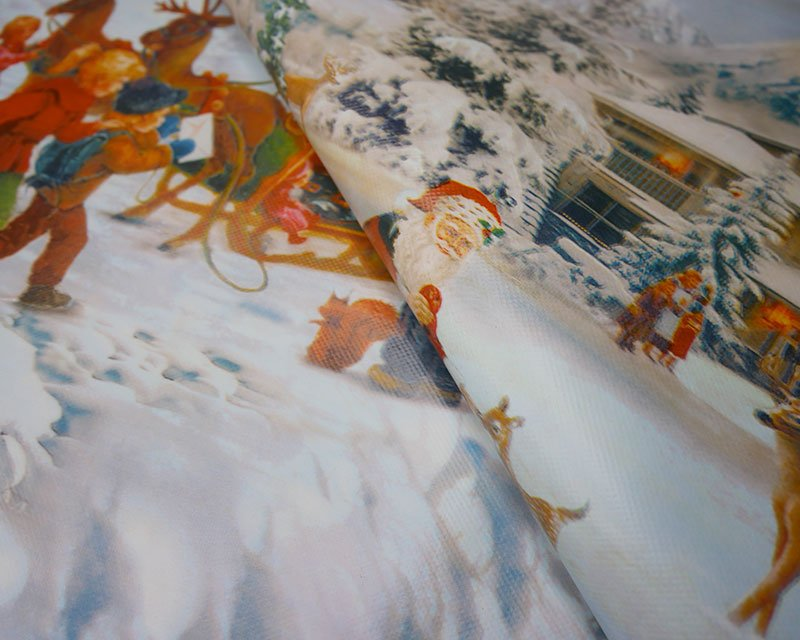 Snow Christmas PVC