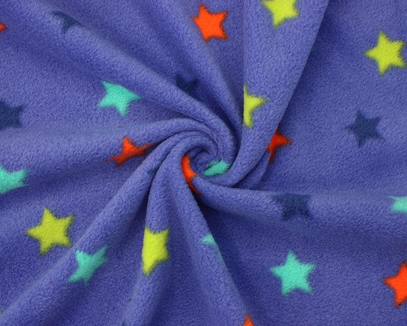 Colourful Stars Polar Fleece