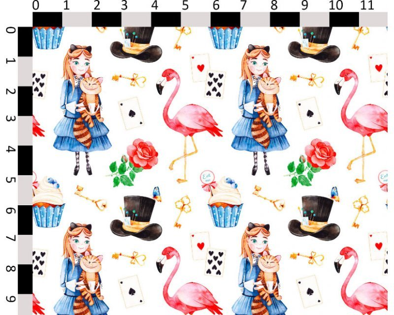 Little Johnny -  Wonderland Flamingo Cotton