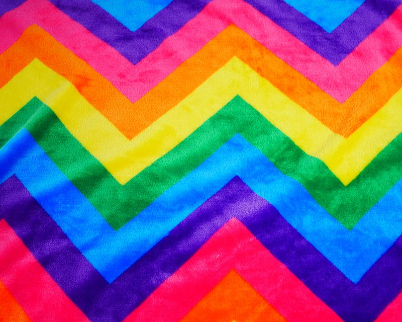 Zig Zag Cuddle Fleece