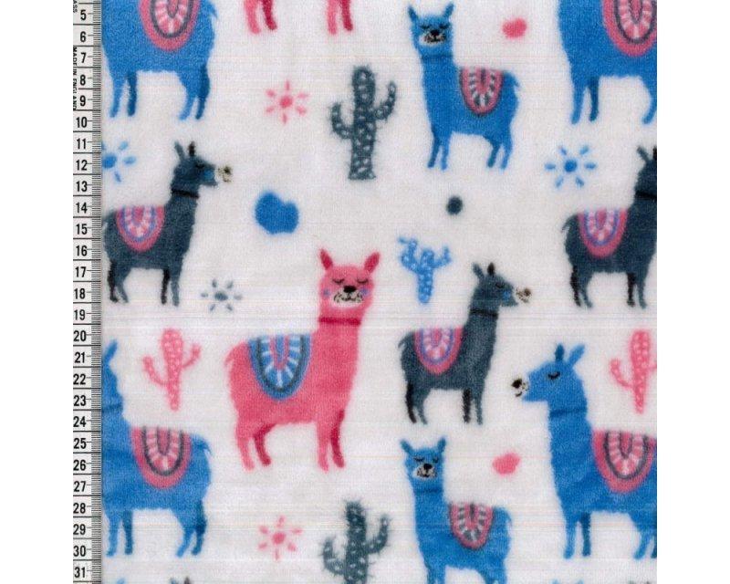 Cactus Llama Cuddle Fleece