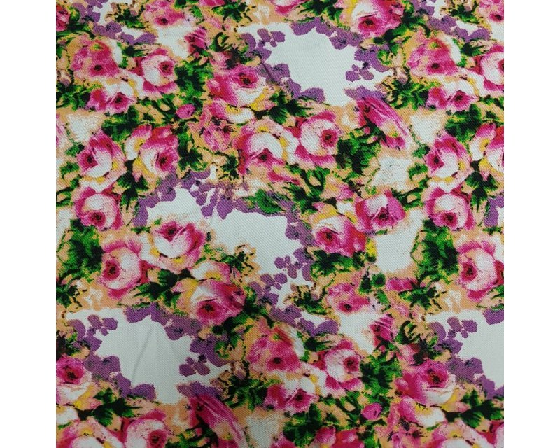 Flower Cotton Sateen
