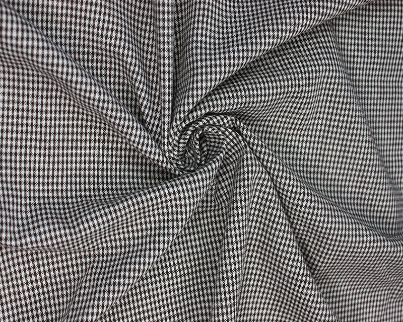 Woven Mini Check Suiting