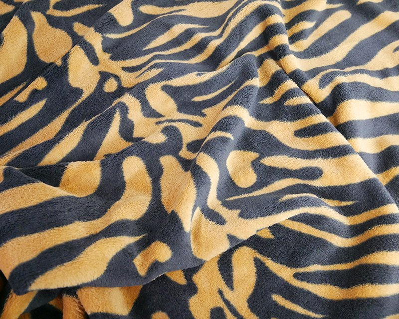 Tiger Stripe Cuddle Fleece