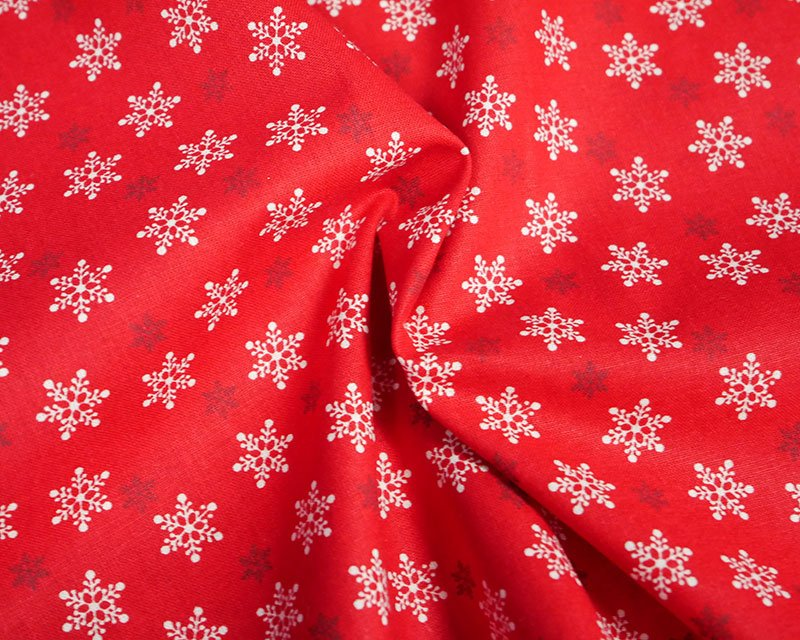 Xmas Snowflake Cotton