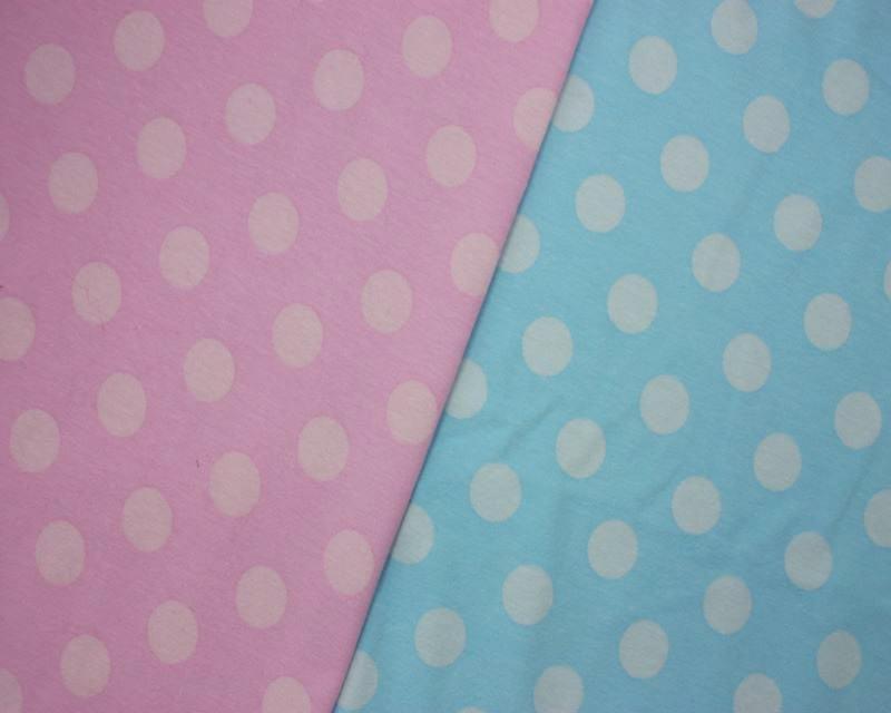 Spotty Cotton Jersey