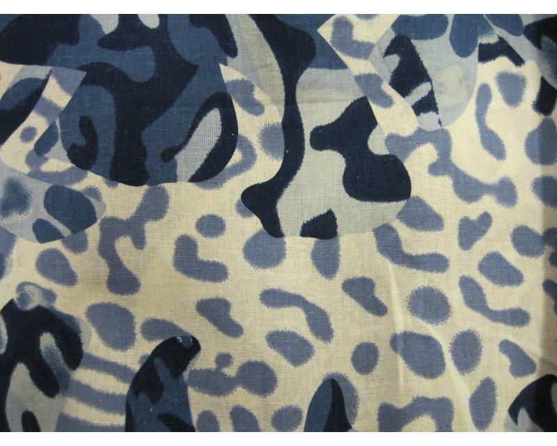Leopard Camo Linen Mix