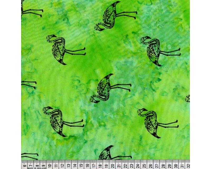 Flamingo Tie Dye Cot Batique